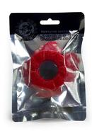 Oxballs Diesel Silicone Cock Ring - Red