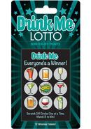 Drink Me Lotto Scratch Off Tickets (12 Per Pack)