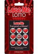 Love Me Lotto Scratch Off Tickets (12 Per Pack)